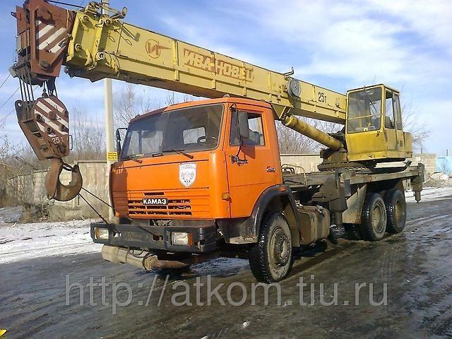 Автокран 25 тонн